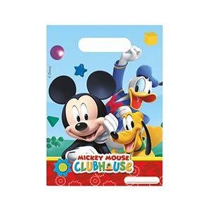Playful Mickey Doğum Günü Hediye Çantası, mickey mouse parti seti
