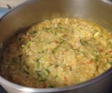 Recipe Tomato and Zucchini Risotto by oMo - Recipe of category Pasta & rice dishes