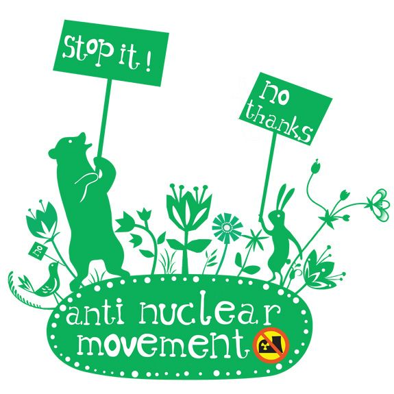 my very own anti nuclear campaign @ Elisandra