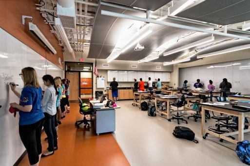 Elementary School Classroom Design Standards ~ Designed for st century learning the laboratories are