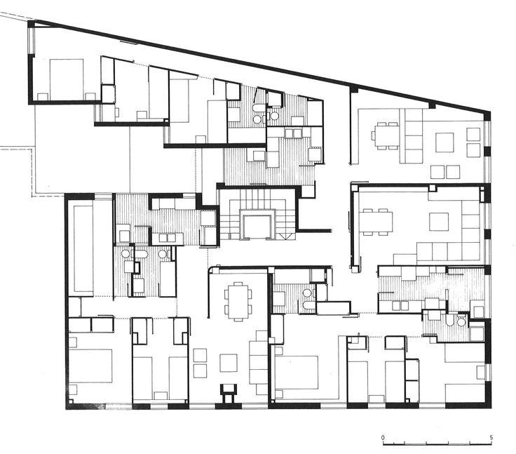 M s de 1000 ideas sobre planos de planta en casa en for Oficinas planta arquitectonica