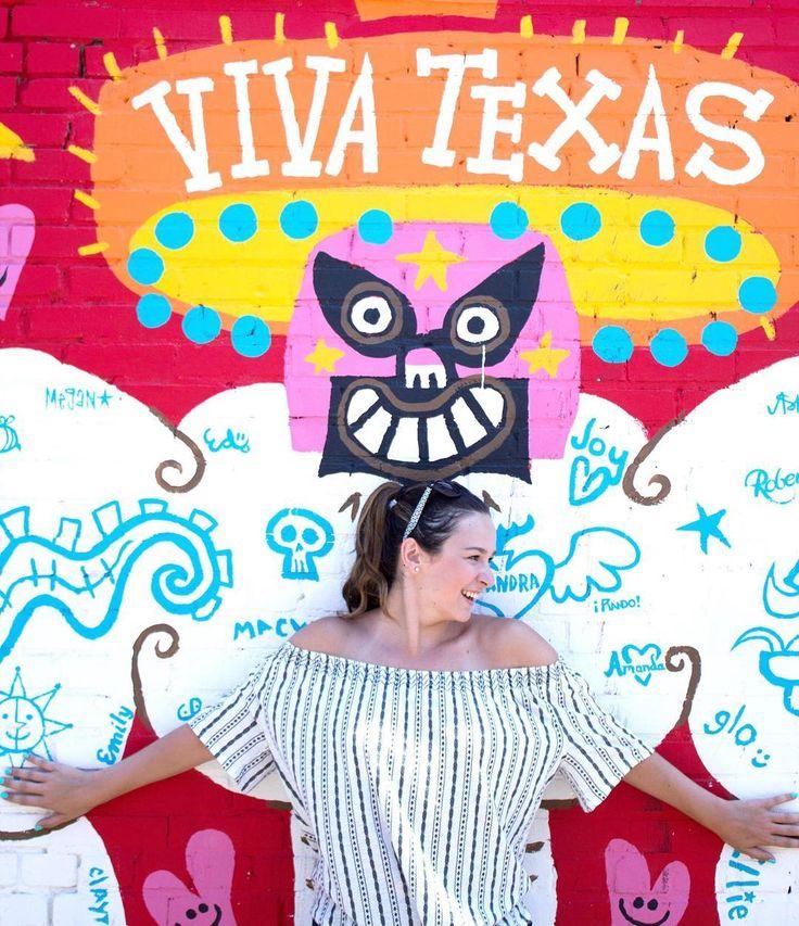 Dallas viva texas mural in deep ellum dallas dallas