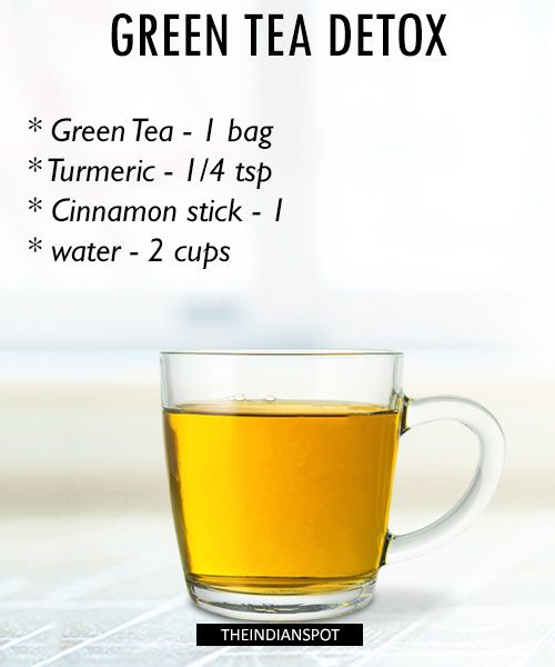 Morning Detox tea recipes for healthy body and glowing skin | THEINDIANSPOT