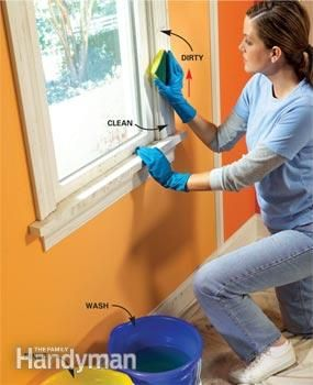 How to Prepare Trim for a Smooth Paint Job. Taking time to wash, sand, scrap and fill woodwork before you paint will give you a smoother, more professional looking finish.