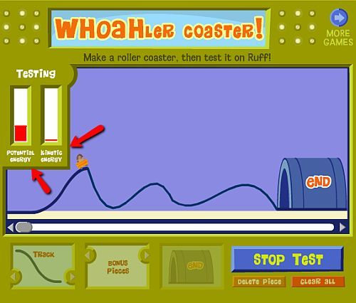 17 best images about potential and kinetic energy on for Energy games for kids