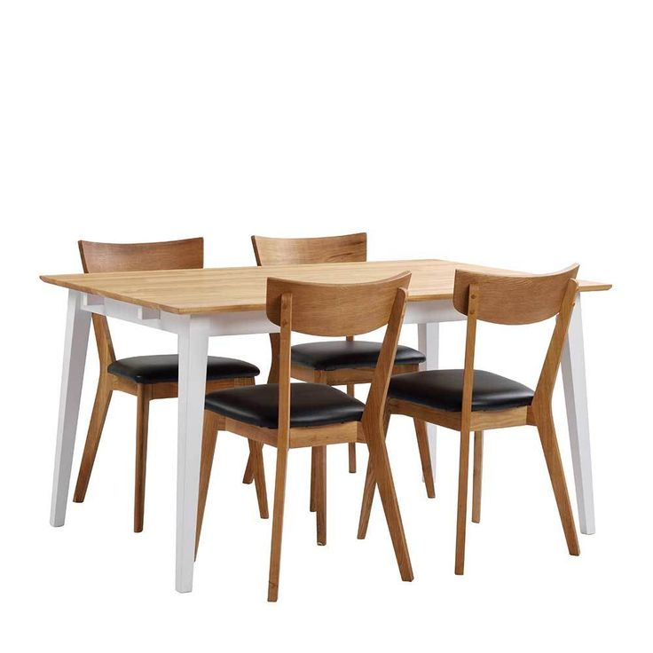 die besten 25 stuhl eiche ideen auf pinterest tisch eiche massiv esszimmertisch massiv und. Black Bedroom Furniture Sets. Home Design Ideas