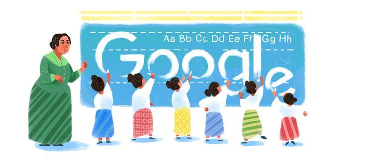 Google Doodle To Celebrate Dewi Sartika's 132rd Birthday