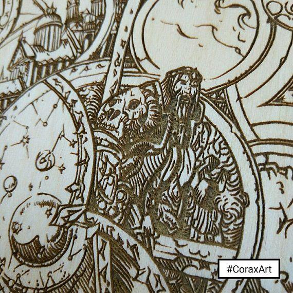 World of Warcraft Wall DecorWOW printGamer presentEngraved