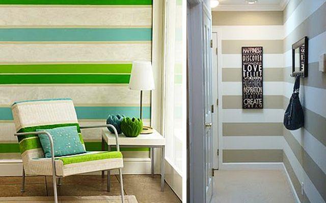 Las 25 mejores ideas sobre paredes de rayas horizontales en pinterest paredes rayadas - Paredes rayas horizontales ...
