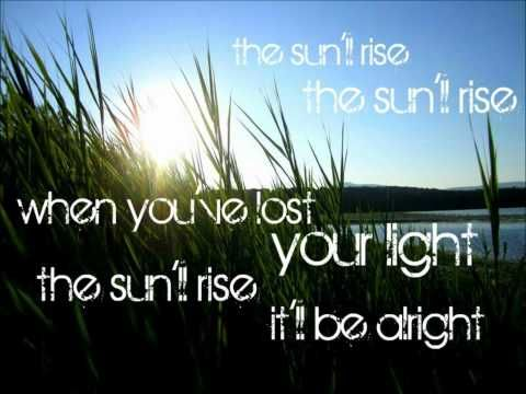 The Sun Will Rise -- Kelly Clarkson...getting ready for her concert next week!