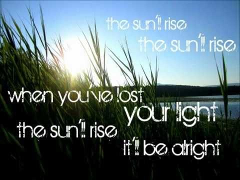 The Sun Will Rise -- Kelly Clarkson (Lyrics)