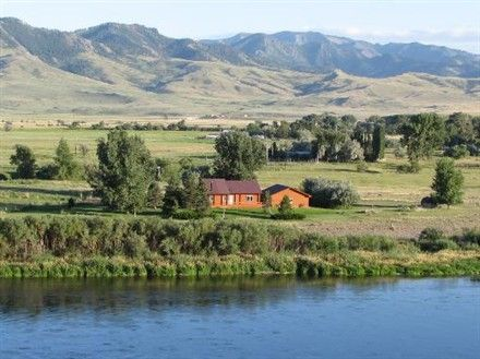 A Montana ranch with horses, mountains, rivers, and beauty everywhere