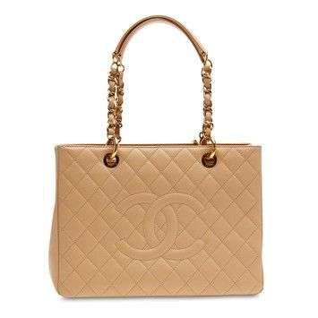 Chanel Grand Shopping Caviar Nude Tote Bag. Get one of the hottest styles of the season! The Chanel Grand Shopping Caviar Nude Tote Bag is a top 10 member favorite on Tradesy. Save on yours before they're sold out!