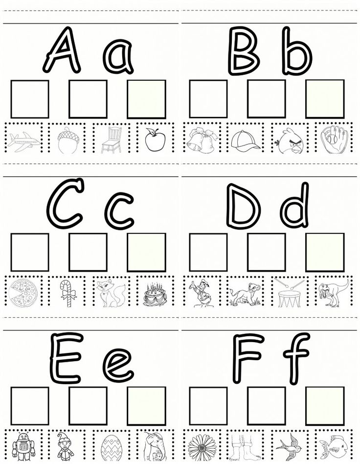 Preschool Learning Letter Practice A F Free Worksheet