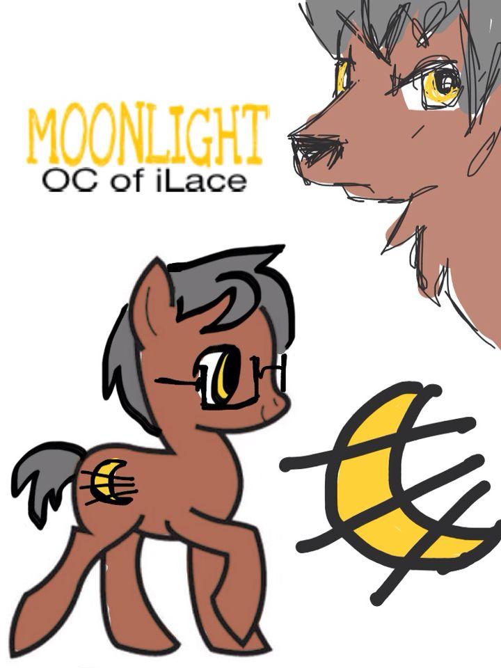 Moonlight is a werewolf.