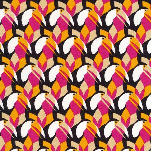 Tucana :: Mixteca by Eleanor Grosch for Cloud9 Fabrics