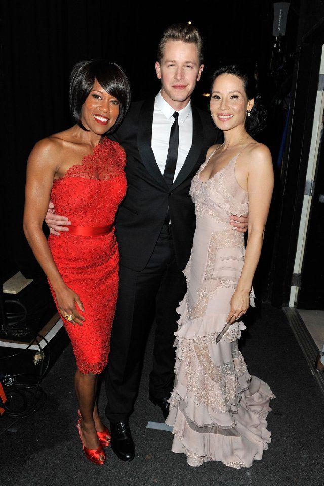 Regina King, Lucy Liu and Josh Dallas