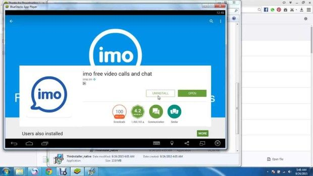 IMO Messenger Download Free Window PC Android