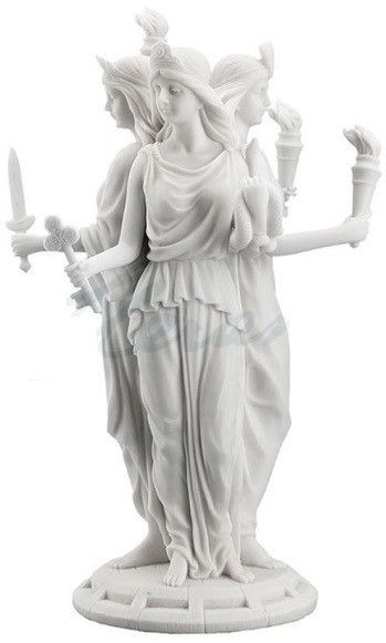 Hecate Greek Goddess of Magic & Witchcraft Statue