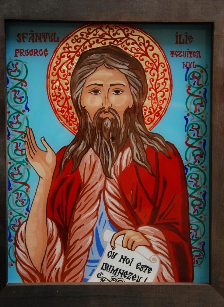 Icoana Sfantul Ilie  http://mirela-moldor.ro/icoane/sfantul-ilie/