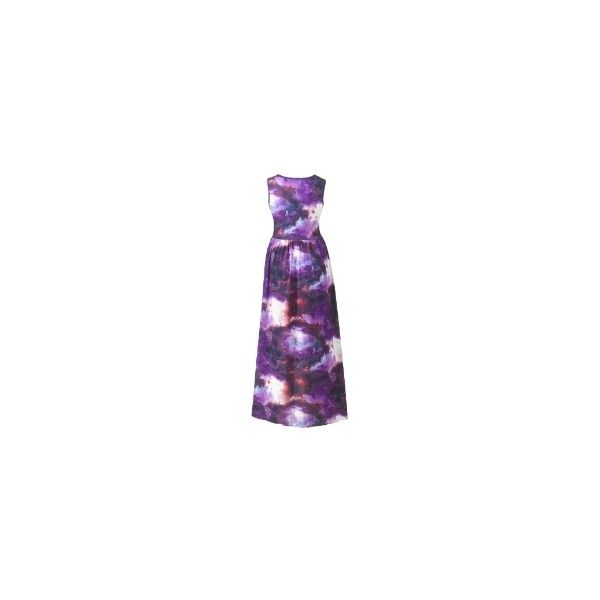 Plus galaxy dress long