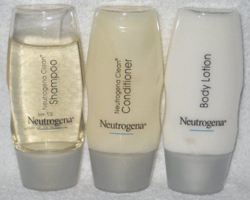 Neutrogena Clean Shampoo Conditioner And Body Lotion Travel Set By 3 95 The