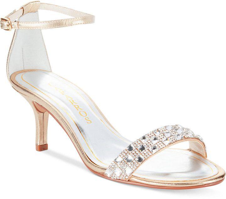 Caparros Starla Two-Piece Evening Sandals