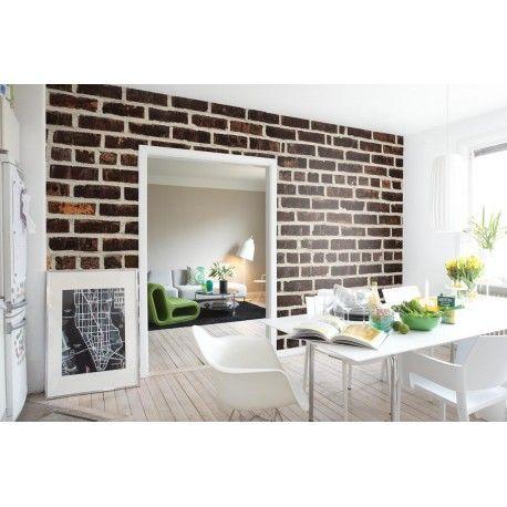 Un muro in mattoni a vista in un vicolo di Harlem è perfetto anche per una parete di casa tua.