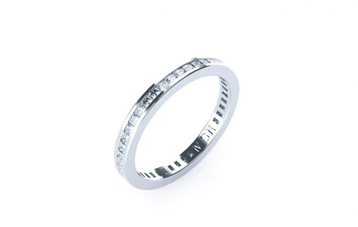 Makers Lane :: O'Hara Diamond Wedding Ring Custom Made, Bespoke jewellery made in Australia.
