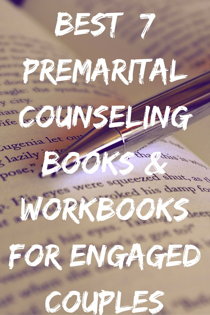 Discover the best premarital counseling books and workbooks (both Christian and non-religious) to read while you are engaged and before you get married. Each book will help you prepare for marriage. #premarital #counseling #books #workbooks #preparingformarriage  #engagedcouples #marriage #books #christian #nonreligious