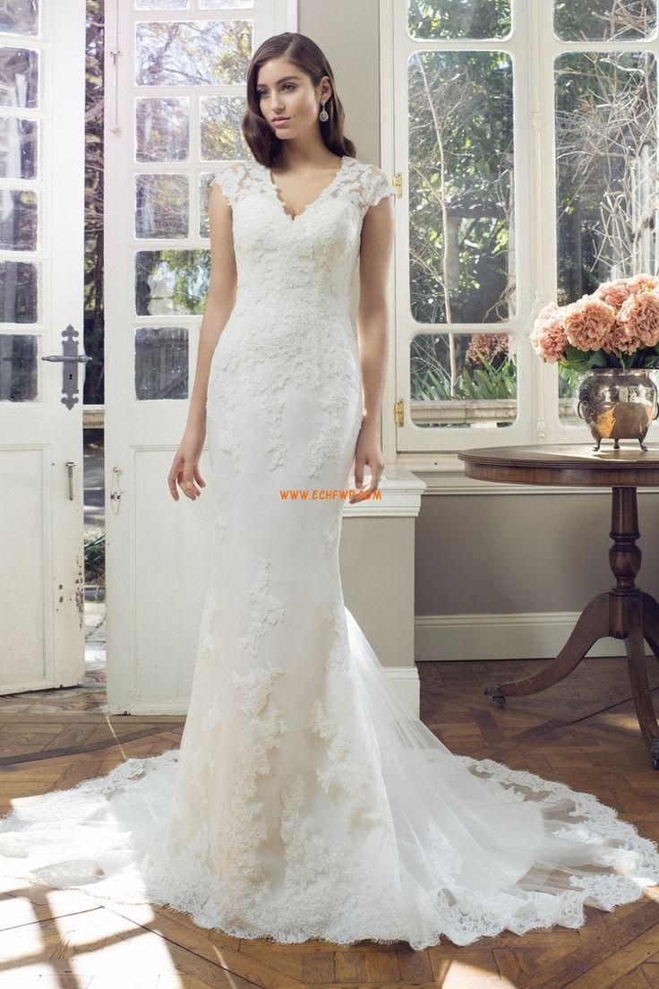 Jaro 2014 Zip Přírodní Luxusní svatební šaty