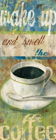 """vintage coffee sign ... cafes aroma ... 