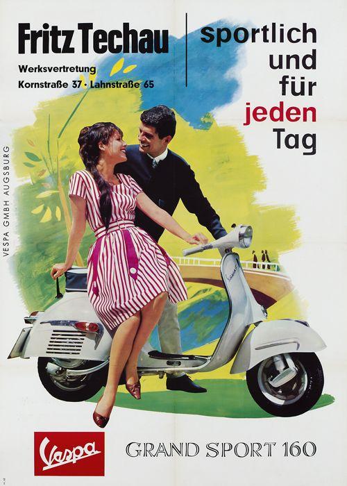 Vespa Grand Sport 160 ad (1962)