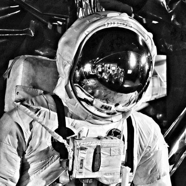 Buzz Aldrins Space Suit, Science Museum, London