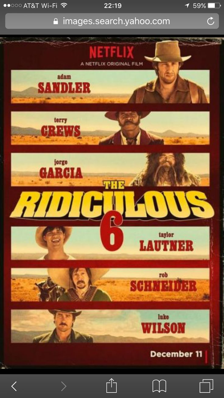 The Ridiculous 6 Taylor Lautner 12/11/15 Netflix Adam