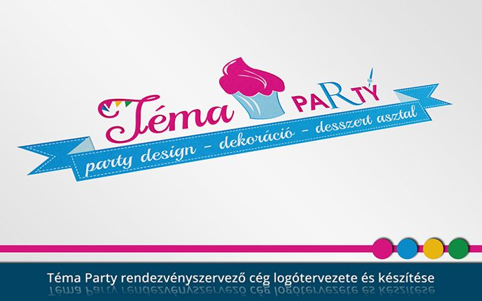 Téma Party logó