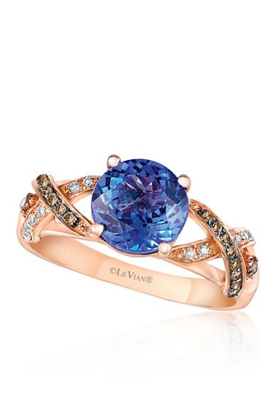 17 best images about 2016 color trend blueberry on pinterest for Belk fine jewelry rings