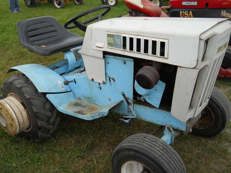 Sears Small Tractors : Little roper ss tractor a sear brand https youtube