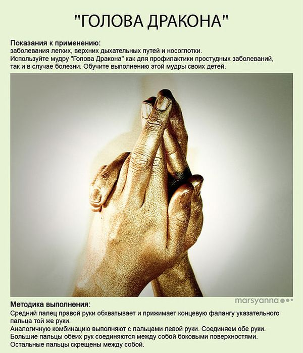 Целительные мудры   Йога для пальцев