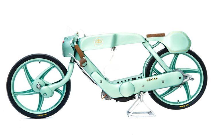 OMT Garage, l'officina vincitrice del reality Lords of the Bike, reinterpreta il cinquantino della Piaggio creando una piccola café racer