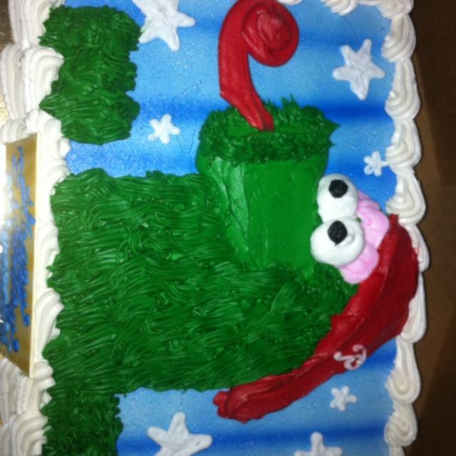 Phillies Phanatic Cake Dinner Amp Drink Ideas Pinterest
