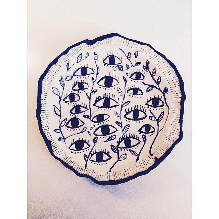 Keramik fat av Emma Larsson @zebrakadebra