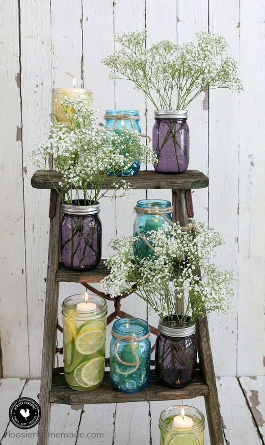 Quick Wedding Ideas | 21 That Will Make You Quick Wedding Ideas Decor Mason Jars Wedding