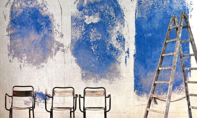 Eldorado Santorin wallpaper from Elitis. Gorgeous & contemporary.