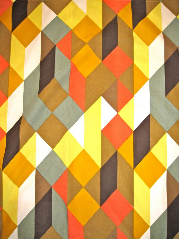 David Whitehead, heavy printed cotton, UK, 50's .