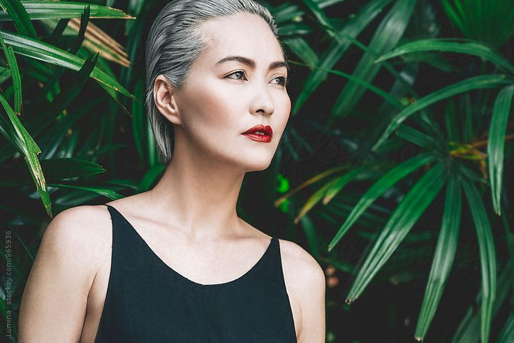 Portrait of a Beautiful Asian Woman by Lumina for Stocksy United