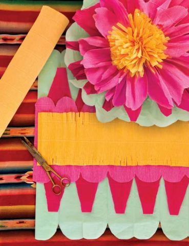 Learn How to Make Mexican Paper Flowers from Trophy Cakes' very own Jennifer Shea!