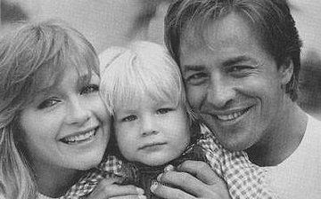Patti D'Arbanville, Don Johnson and their son, Jesse.