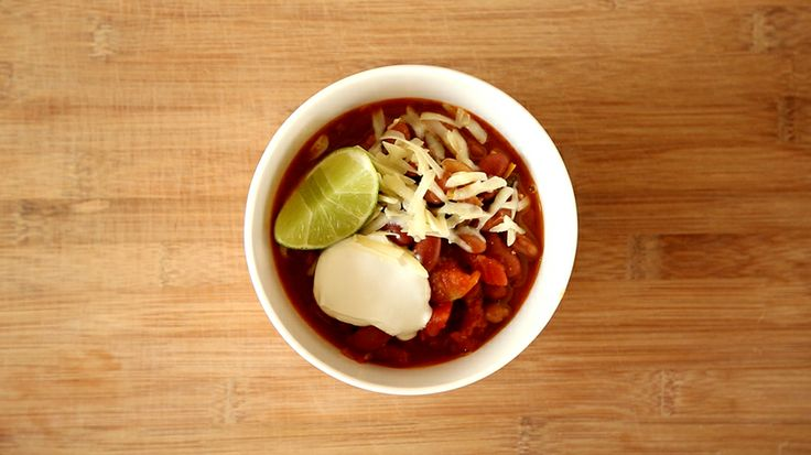 Sam's Vegetarian Bean Chili, Recipe from Everyday Food, October 2011