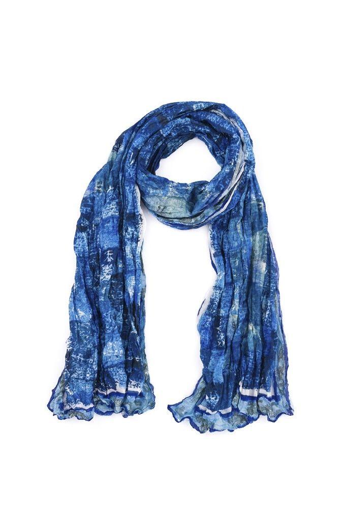 Bufanda ONA Salvia - Azul | $148,500.00